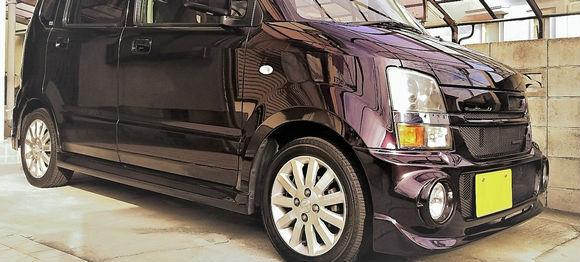 スズキワゴンRにガラス系の車コーティングを施工した12月のベストショット!自慢の愛車写真とユーザー評価をチェック!