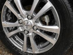輸入車や高級車のホイールの保護に最適なハイブリッドナノガラスの現行ホイールコーティング