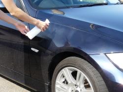 車のガラスコーティング  ハイブリッドナノガラス コーティング前処理 コンパウンド1