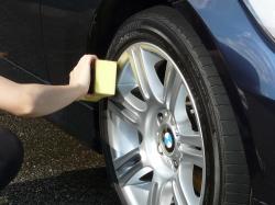 車のガラスコーティング  ハイブリッドナノガラス コーティング前処理 タイヤコーティング エクストラ3