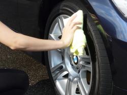 車のガラスコーティング  ハイブリッドナノガラス コーティング前処理 タイヤコーティング エクストラ6