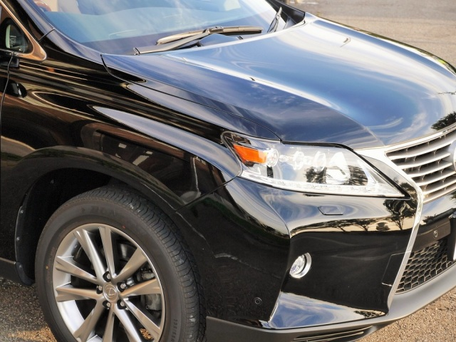 ハイブリッドナノガラスの新しい車のコーティング/スーパーゼウスを施工して極上の艶で光り輝くレクサスRXハイブリッド