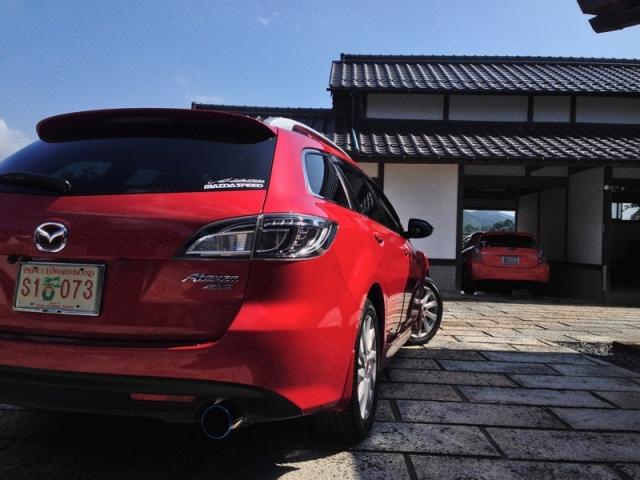 マツダアテンザの新車の輝きをいつまでも保つ!新型ガラスコーティング『ゼウスα』を施工した評判・効果・レビュー・口コミ