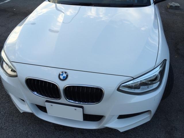 BMWに最新型ガラスコーティング『ゼウスα』を施工したコーティング評判・効果・レビュー・口コミ