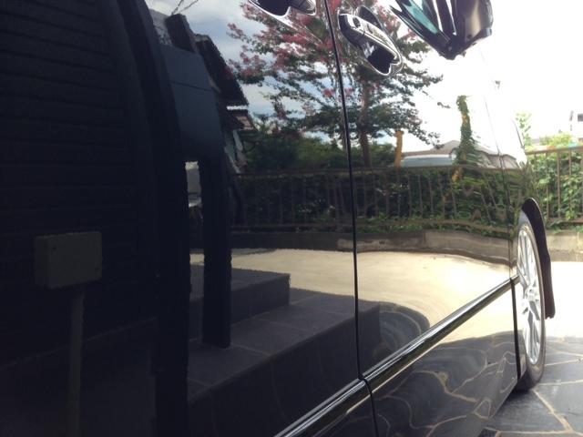 トヨタヴェルファイアにガラスコーティング「ラスターベール」を施工したコーティング評判・効果・レビュー・口コミ