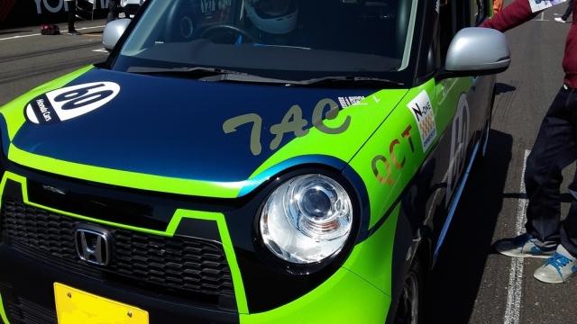 ホンダN-ONEオーナーズカップに参戦した車にシミ除去にも効果あるポリマーコーティングをブレンドして施工したコーティング評判・人気・評価・おすすめ・レビュー・口コミ