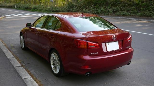 レクサスIS350に洗車傷消し効果の高い新型ガラスコーティングスーパーゼウスを施工した評判・人気・評価・おすすめ・レビュー・口コミ