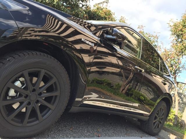 トヨタハリアーに洗車傷消し効果の高い新型ガラスコーティングスーパーゼウスを施工した評判・人気・評価・おすすめ・レビュー・口コミ