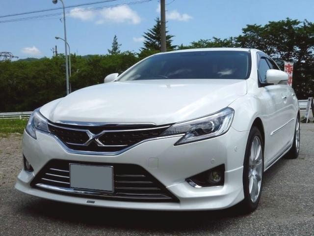 トヨタ マークXに艶・光沢・防汚性能に優れた人気のカーコーティング/ゼウスαを施工した評判・人気・評価・おすすめ・レビュー・口コミ