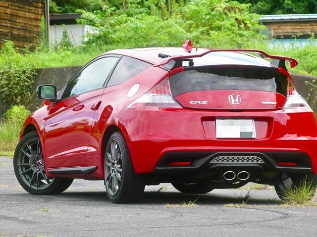 ホンダ CR-Zに車のキズ消しや下地処理用コンパウンド/エクストラカットを施工した評判・人気・評価・おすすめ・レビュー・口コミ