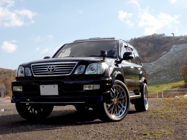 北海道のユーザーがトヨタの高級SUV/ランドクルーザーシグナスにプレミアム・コーティング/スーパーゼウス【Premium】を施工