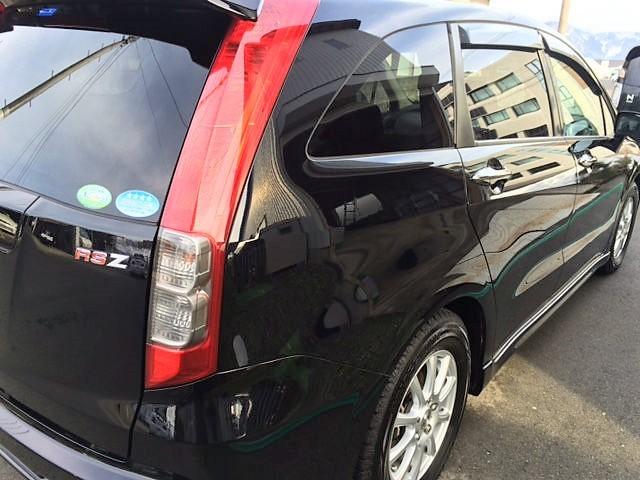 ホンダ ストリームに車の下地処理に最適なコーティングコンディショナーを施工した評判・人気・評価・おすすめ・レビュー・口コミ