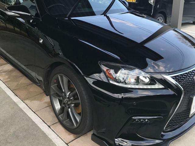 レクサス IS250に車のキズ消し性能に優れたコーティングスーパーゼウスを施工した評判・人気・評価・おすすめ・レビュー・口コミ