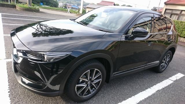 マツダ/CX-5に評判・人気の洗車傷消し効果に優れたカーコーティング/スーパーゼウスを施工した評価・おすすめ・レビュー・口コミ