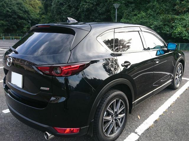 車の下地処理に最適で人気のコーティングコンディショナーをマツダ/CX-5に施工したコーティング評判・評価・おすすめ・口コミ