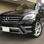 福岡県のユーザーがメルセデスベンツの最高級SUV/MLクラスAMGにプレミアム・コーティング/スーパーゼウス【Premium】を施工