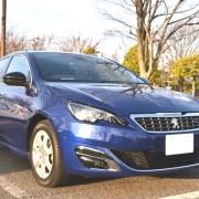 新潟県のユーザーがプジョーのワゴン/308にプレミアム・コーティング/スーパーゼウス【Premium】を施工