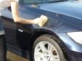 車のガラスコーティング  ハイブリッドナノガラス コーティング前処理 エクストラカット5